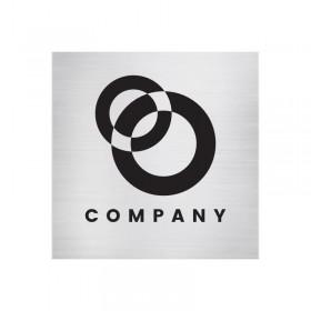Plastová cedulka s označením sídla firmy a provozovny s vlastním designem na míru