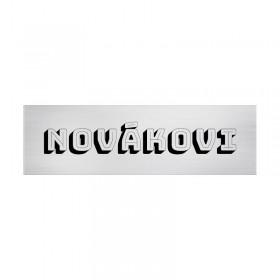 Navrhněte si svou jmenovku v našem designeru online na webu www.mujstitek.cz